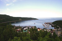 The bay of Tadoussac